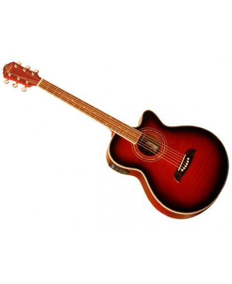 Guitarra Acústica Electrificada Oscar Schmidt OG10CEFTR