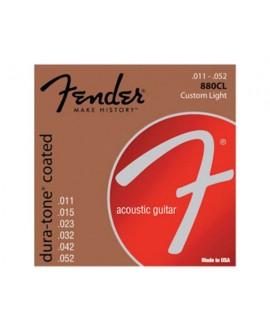 Juego Cuerdas Guitarra Acústica Fender 880CL