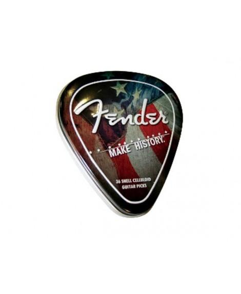 Caja Púas Fender 351 Make History Pick Tin 36
