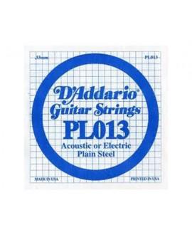 Cuerda Guitarra Eléctrica D´Addario PL-013