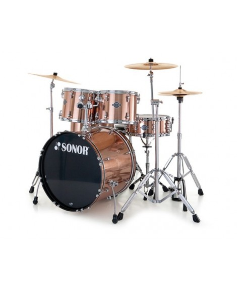 Batería Acústica Sonor Smart Force Xtend Stage 1 Brushed Cooper