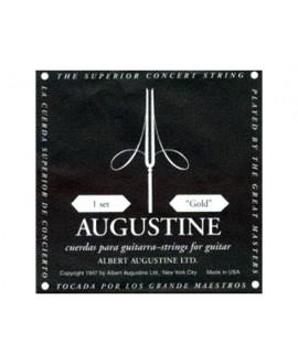 Juego Cuerdas Guitarra Clásica Augustine Negra