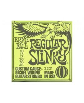 Juego Cuerdas Guitarra Eléctrica Ernie Ball Slinky 2221