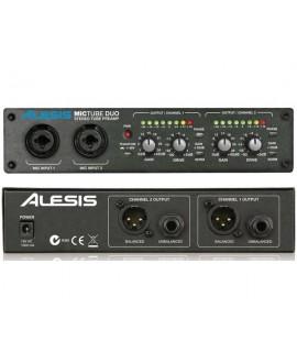 Preamplificador Micrófono Alesis MicTube Duo