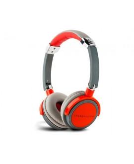 Auriculares Energy Sistem Energy DJ 410 Red Grey con Micrófono