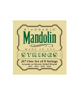 Juego Cuerdas Mandolina D´Addario J-67