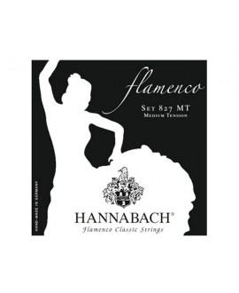 Juego Cuerdas Guitarra Clásica Hannabach Flamenco 827 MT