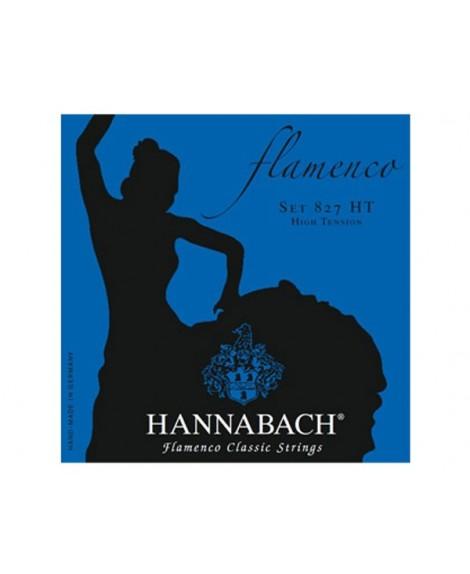 Juego Cuerdas Guitarra Clásica Hannabach Flamenco 827 HT