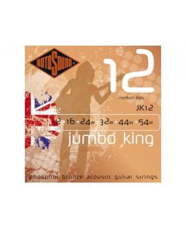 Juego Cuerdas Guitarra Acústica Rotosound Jumbo King JK12