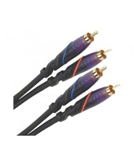 Cable 2RCA - 2RCA 4 Metros Monster Cable