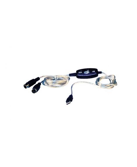 Cable Midi Leem USB-MD 10