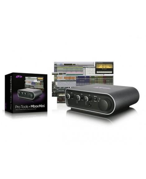 Interfaz Audio Avid Mbox Mini Pro Tools 10