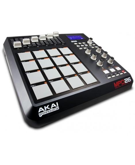 Controlador Akai MPD26
