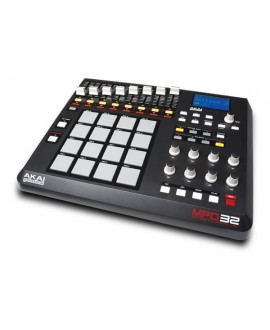 Controlador Akai MPD32