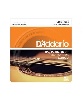 Juego Cuerdas Guitarra Acústica D´Addario EZ-900