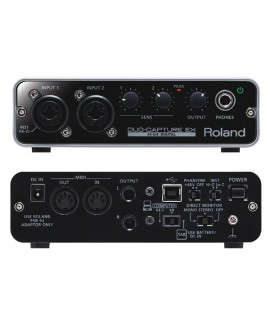 Interfaz Audio Roland UA-22 Duo Capture EX
