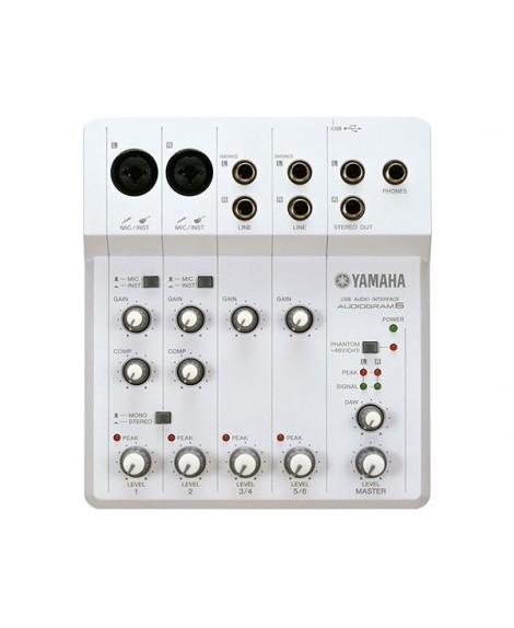 Interfaz Audio Yamaha Audiogram 6