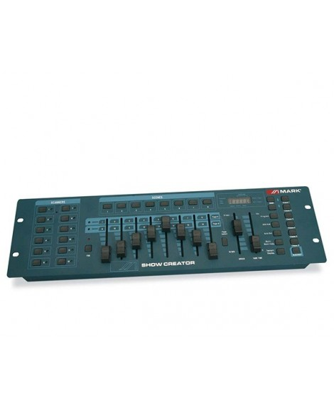 Controlador Mezclador DMX Mark Show Creator