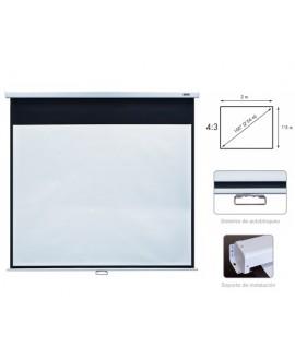 Pantalla Proyección Manual PPMA-100