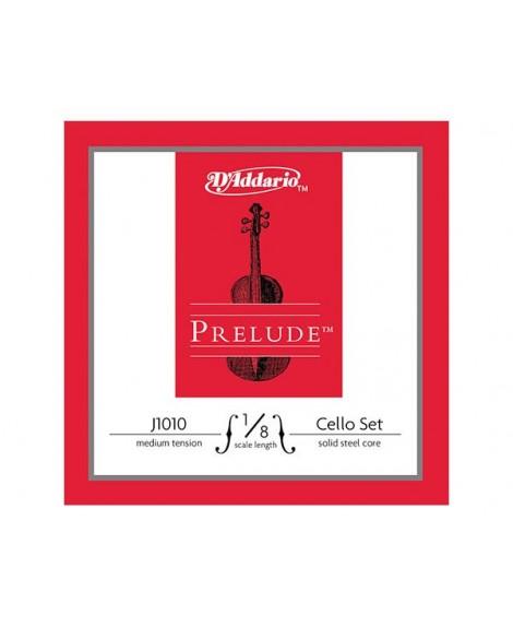 Juego Cuerdas Cello D´Addario Prelude J1010 1/8