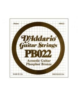 Cuerda Guitarra Acústica D´Addario PB-022