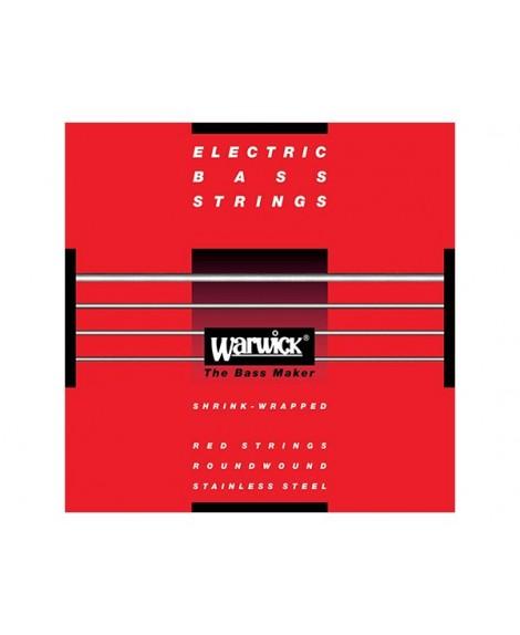 Juego Warwick Bajo 4 Cuerdas Red Label 45-105