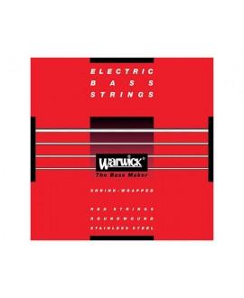 Juego Warwick Bajo 4 Cuerdas Red Label 40-100