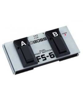Pedal Dual Footswitch Boss FS-6