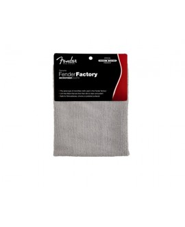 Paño Fender Factory Microfiber Cloth (Gray)