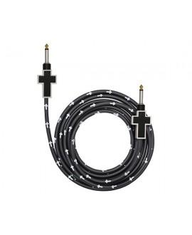 Cable Bullet Cable Cruz Blanco/Negro 3,6m