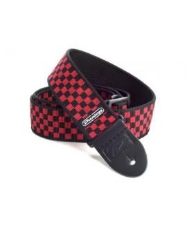 Correa Dunlop Cuadros Rojos Negros