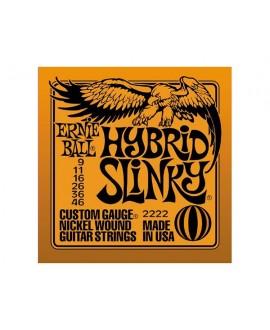 Juego Cuerdas Guitarra Eléctrica Ernie Ball Slinky 2222