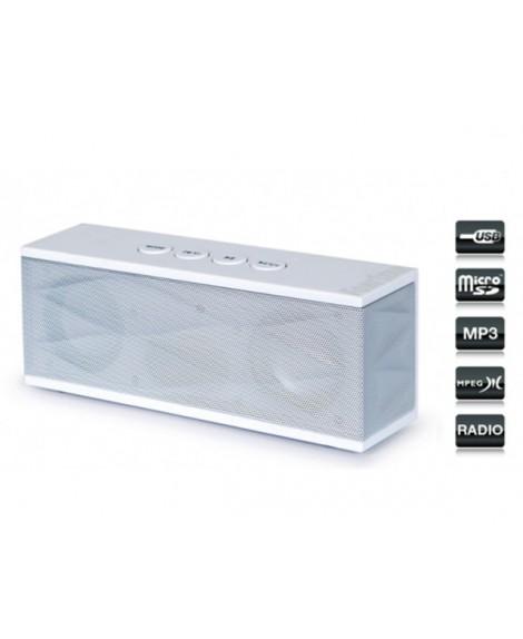 Altavoz Portátil Reproductor USB/MicroSD/MP3 Radio Digital