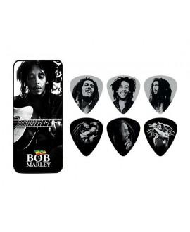Lata 6 púas Dunlop Bob Marley BOB-PT24