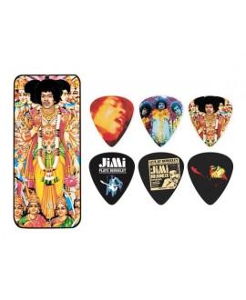 Lata 6 púas Jimi Hendrix JH-PT24