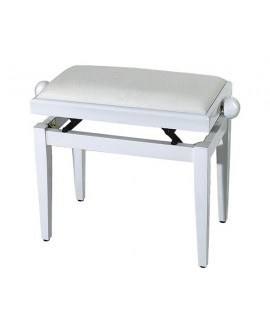 Banqueta Piano Rectangular FX Blanco