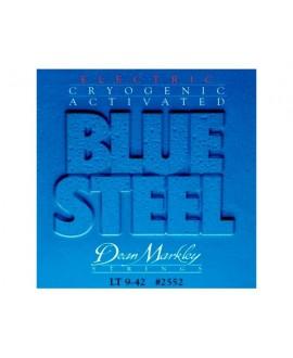 Juego Cuerdas Guitarra Eléctrica Dean Markley Blue Steel 009-042