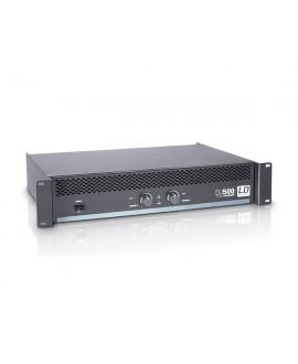 Amplificador de PA 2 x 250 W LD Systems DJ500