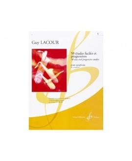 50 Etudes Faciles et Progressives Vol. 1 Guy Lacour