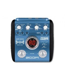 Pedalera Guitarra Zoom G2R - Richie Kotzen Signature Edition