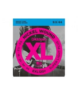 Juego Cuerdas Guitarra Eléctrica D´Addario EXL120+ (0.954-44)