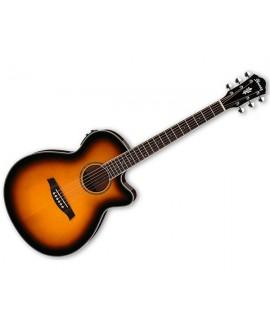 Guitarra Acústica Ibanez AEG10II-BK