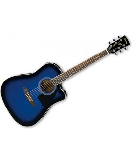 Guitarra Acústica Ibanez PF15ECE-TSB