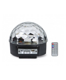 Mini Semiesfera 6 LED MINIBALL06U