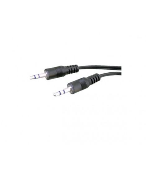 Cable Audio Inyectado 2 x Jack Macho Estéreo 3,5mm
