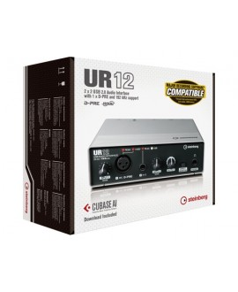 Interfaz Audio USB Steinberg UR-12