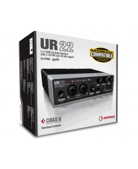 Interfaz Audio USB Steinberg UR-22