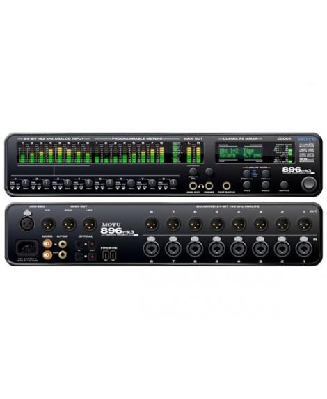 Interfaz Audio Motu 896 MK3 Hybrid