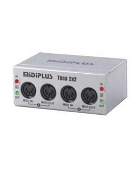 Interfaz Midi BCT Tbox 2x2