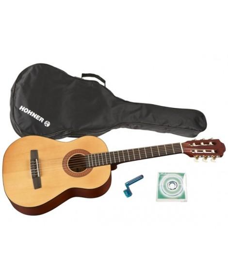Pack Guitarra Clásica Hohner HC-02